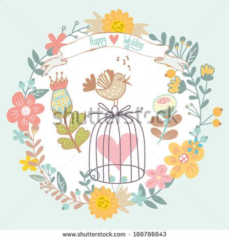 dribbble happy wedding gentle by marusha seamless pattern owl balloons hearts stock vector