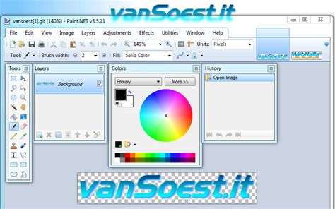 the ict hotlist information about paint net https www vansoest it