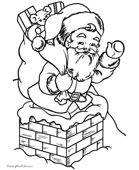 free santa claus coloring sheets az coloring pages