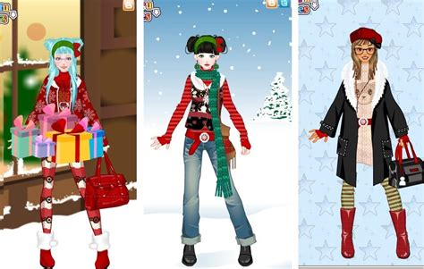 cozy christmas dress up game by pichichama on deviantart