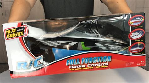 radio controlled boats youtube 17 quot r c radio control mastercraft ski boat by new bright