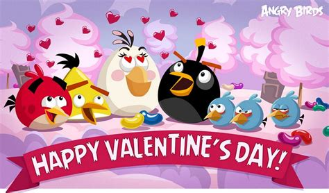 angry birds valentines happy s day from all your favorite