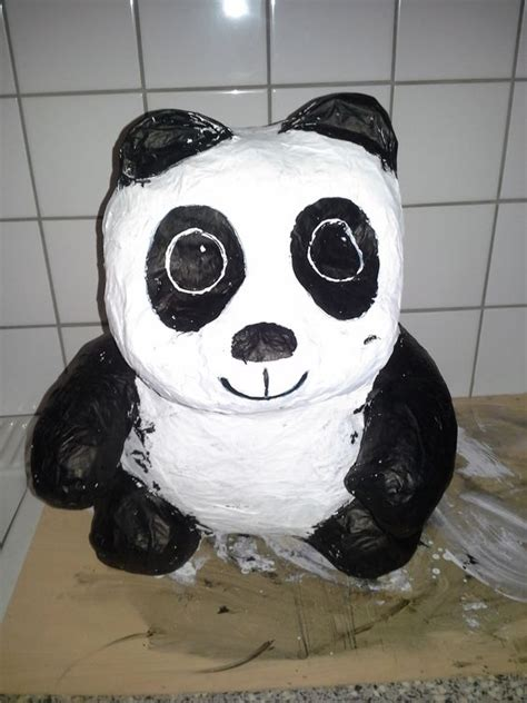 How To Make A Paper Mache Panda - how to make a paper mache panda 28 images playful