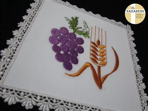 imagenes de uvas con espigas palias bordadas 171 el nazareno el nazareno