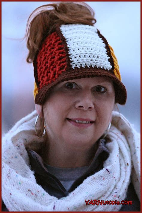 crochet pattern video tutorial by nadia crochet tutorial let your buns out hat yarnutopia by