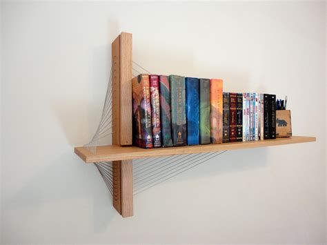 On The Shelf Book And by Suspension Shelf Robby Cuthbert Design