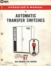 onan series automatic transfer switches wiring diagrams parts manual ebay