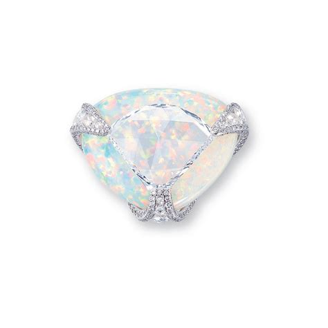 a and white opal ring christie s