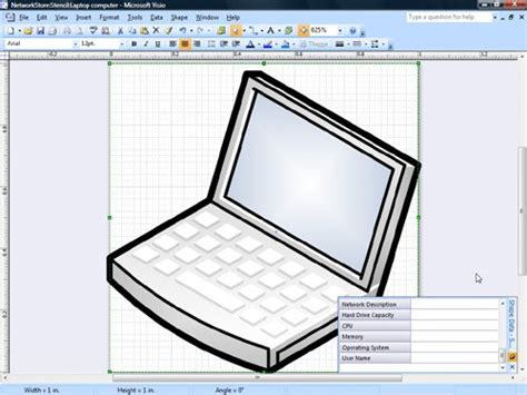 visio computer shapes storing information with network shapes microsoft office