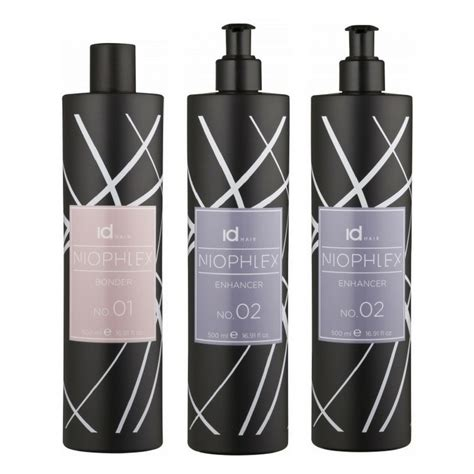 Id Hair by Id Hair Niophlex Salon Kit 3x500 Ml U