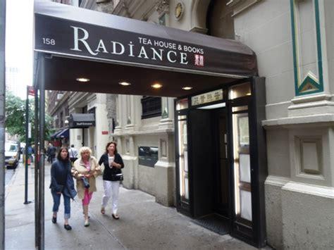 radiance tea house ニューヨーク徒然日記 ミッドタウン ランチ radiance tea house