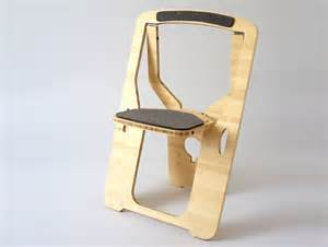 Small Single Chair Monstrans Single Sheet Bamboo Chair Folds Flat For Easy