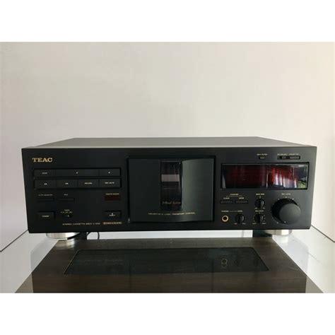 teac cassette deck cassette deck teac