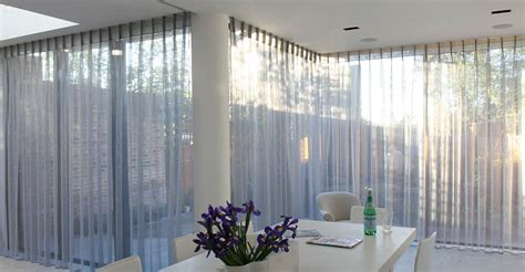 how to hang voile and curtains together curtains moghul interiors