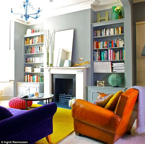 Living Room Colours Farrow And Lifestyle Go Brightly Daily Mail