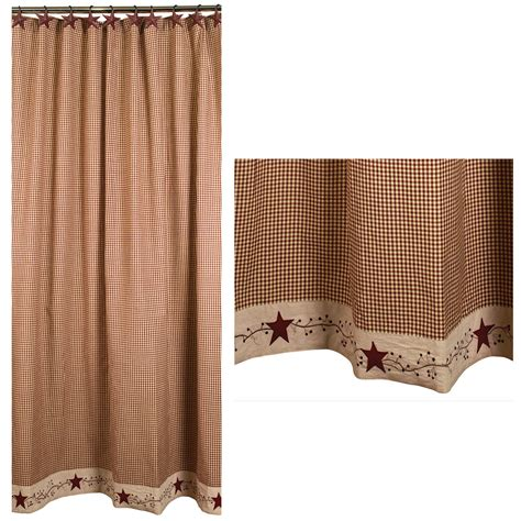 home decor curtains and berries shower curtain primitive home decors