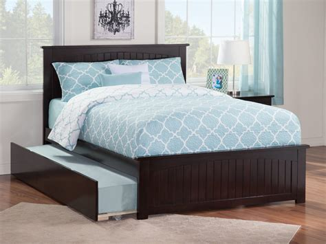Matching Beds by Nantucket Matching Footboard Trundle Bed Atlantic Furniture