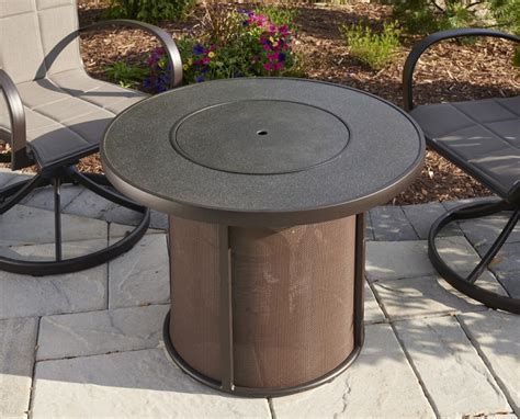 Stonefire 32 Inch Fire Pit Table W Burner Cover Firepit Burner