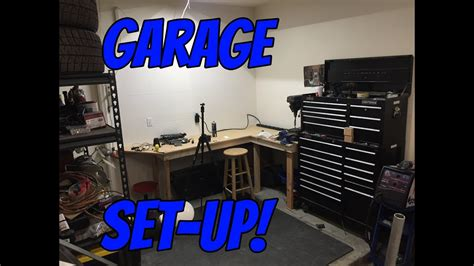 perfect  car garage setup youtube