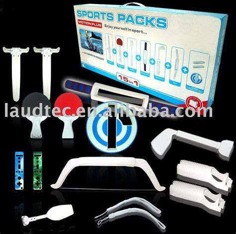 Wii Motion Plus Resort Accessory Pack 24 In 1 for wii sports pack for wii sports pack manufacturers in lulusoso page 1