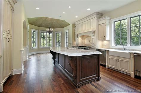 luxury kitchen islands ideas with white cabinets luxury kitchen design ideas and pictures