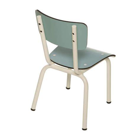 chaise enfant bleu jade les gambettes