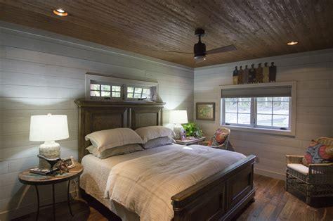 Whitewash Log Cabin Interior by Rider Cedar Creek