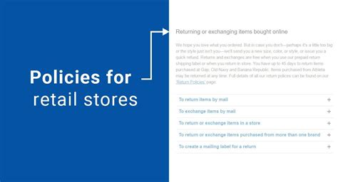 retail return policy template policies for retail stores termsfeed