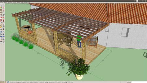 pergola en bois pour terrasse 4651 besoin d aide pour terrasse pergola 12 messages