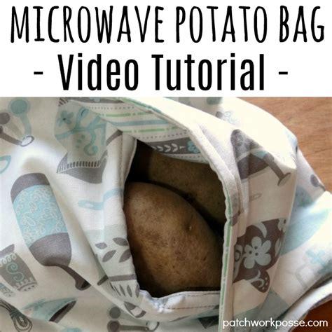 Potato Tutorial by Baked Potato Microwave Bag With Tutorial