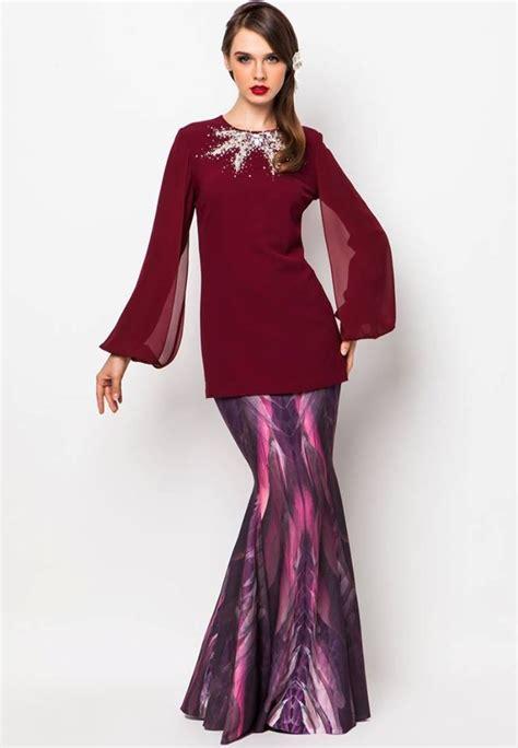 Baju Pesta Zalora 66 best images about baju kurung n jubah on traditional dresses kebaya and gown