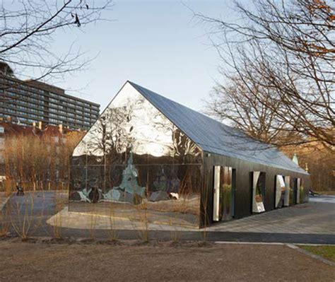 mirror house intriguing playground pavilion in copenhagen mirror house freshome com