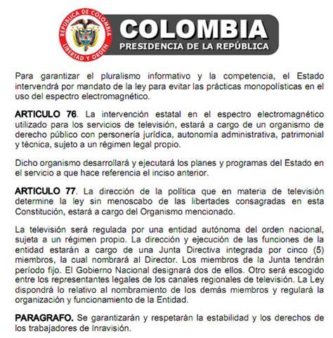 articulo 43 de la constitucion politica de colombia evaluamos periodismo de c 243 digo abierto
