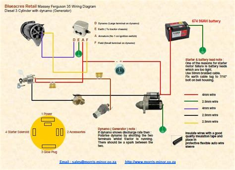 massey ferguson electrical diagram massey ferguson 35x wiring diagram