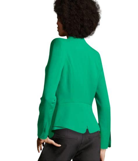 M Blazer h m blazer in green lyst