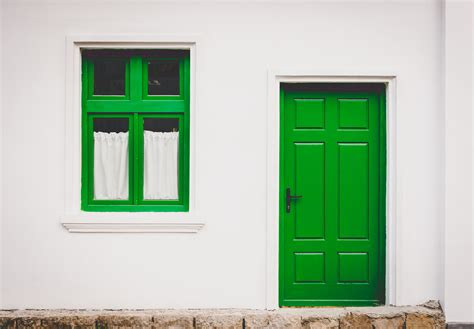 The Green Door 2 by Front Door Makeovers The Great Frame Up Near South