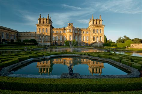 blenheim palace guided tour of blenheim palace period living