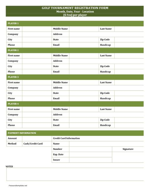 golf outing sign up sheet template golf tournament sign up sheet template aiyin template source