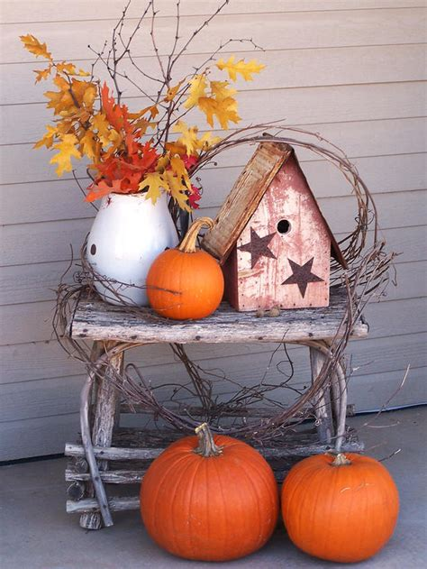 outside fall decor carver junk company outdoor fall decor porches decks