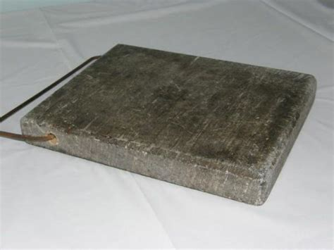 Soapstone Warmer antique primitive soapstone bed carriage warmer hearth home early ware ebay