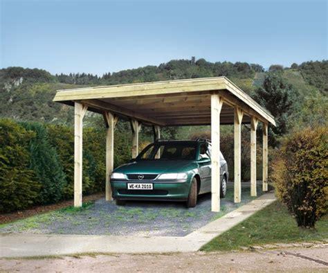 Garage En Bois En Kit 330 by Carport Bois Simple Tirol Special Neige 300 Kp M 178 Weka
