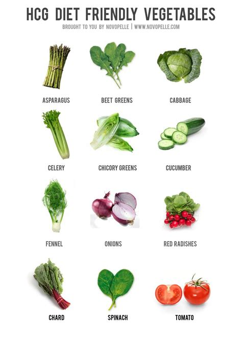 friendly vegetables hcg diet friendly vegetables hcg