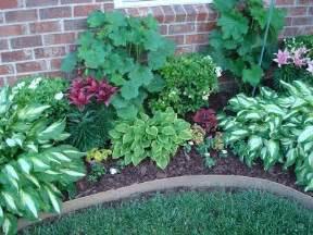 in her garden she put azaleas hostas hollyhocks lilies