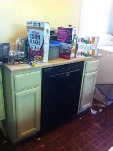 free standing dishwasher cabinet home ideas
