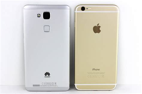 Iphone 7 Gehäuse Polieren by Iphone 6 Plus Vs Huawei Ascend Mate 7