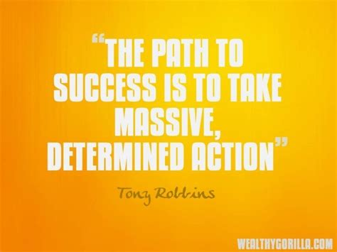 To Rich To Succes Mario Einstain tony robbins quotes on motivation quotesgram