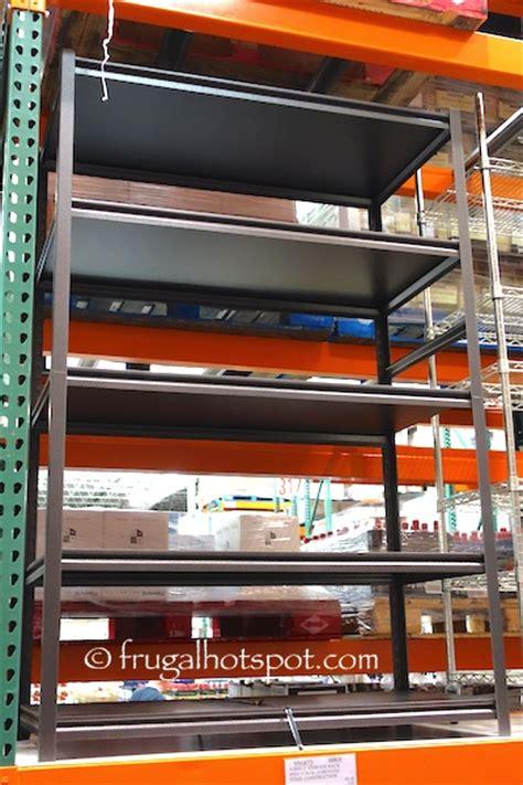 costco sale whalen 5 shelf storage rack 59 99 frugal
