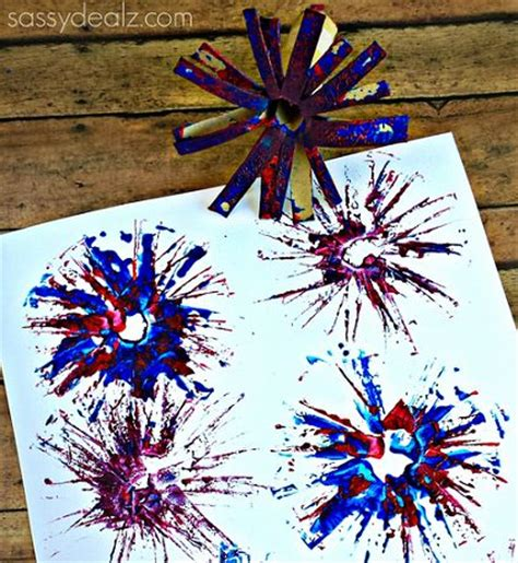 bonfire crafts for toilet paper roll fireworks craft for toilets