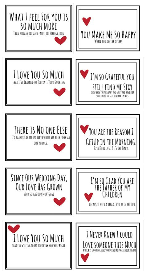 Pdf When Your Partner Has Ed by Realist Valentines For Your Husband Free Pdf Do Small