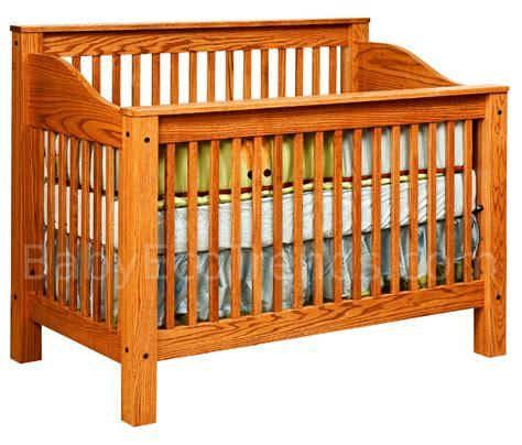 Amish Baby Cribs by Mission 4 In 1 Convertible Baby Crib Made In Usa Baby